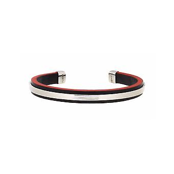 ZOPPINI Red Leather Bracelet