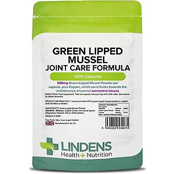 Lindens Green Lipped Mussel 500mg Capsules 1000 (4975)