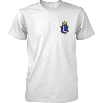 HMS Scimitar - Current Royal Navy Ship T-Shirt Colour