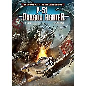 P-51 Dragon Fighter [DVD] USA import