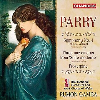 Parry - Symphony 4 [CD] USA import