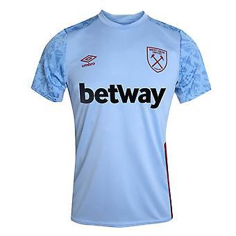 2020-2021 West Ham Training Shirt (Blau)