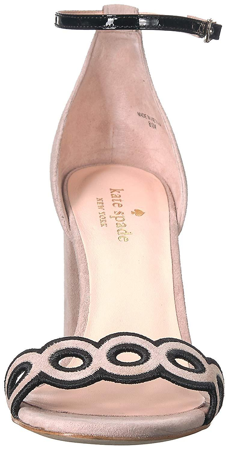 Kate Spade New York Womens S916030 Suede Open Toe Casual Ankle Strap Sandals