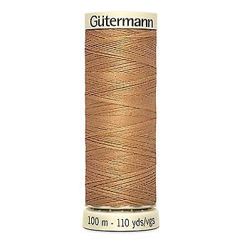 Gutermann Sy-all 100% Polyester Tråd 100m Hånd- og maskinfargekode - 307