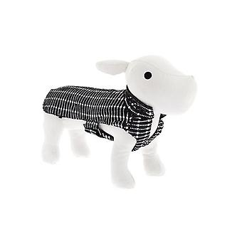 Ferribiella Dogue Coat Black and White (Dogs , Dog Clothes , Coats and capes)