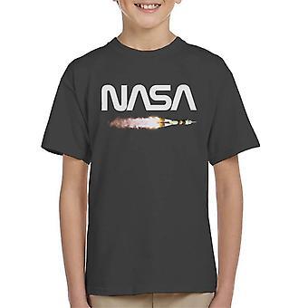 NASA Soyuz Launch Logo Kid's T-Shirt