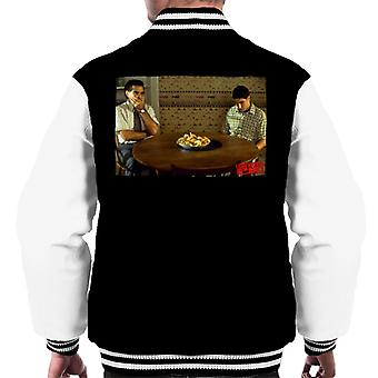 American Pie On The Table Men's Varsity Jacket