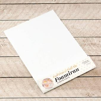Couture Creations Foamiran White Sheets (10pcs) (CO726143)