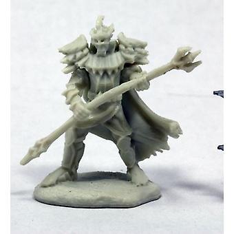 Reaper Miniatures Bones Pathfinder Vagorg, Half Orc Sorceror