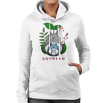 My Neighbors Nature Totoro Women's Hooded Sweatshirt