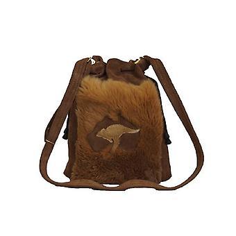 Jacaru 5625 dilly bag kangaroo fur