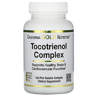 California Gold Nutrition, Tocotrienol Complex, 150 Fish Gelatin Softgels