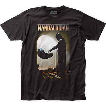 O Bando Mandaloriano encontra a camiseta infantil