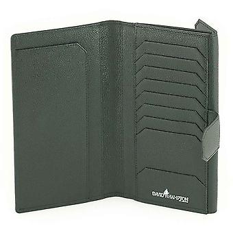 Black Malvern leather Clutch Wallet