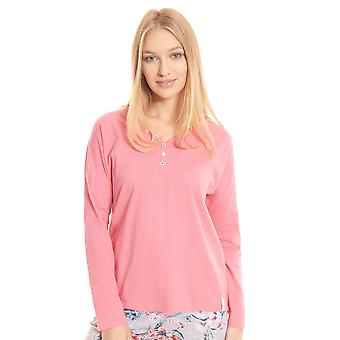 Rösch be happy! 1202106-16529 Women's Raspberry Pyjama Top