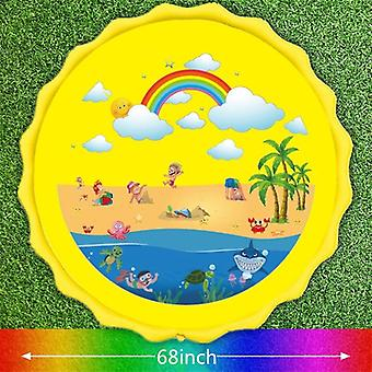 Water Mat For Children Baby Play Game Party
