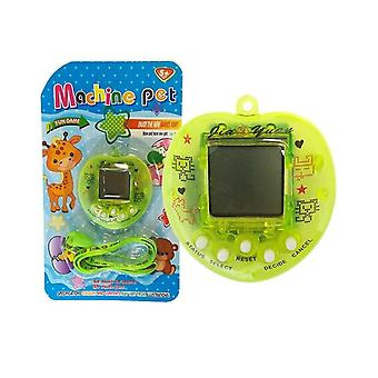 Tamagotchi fluorine green with carrier necklace