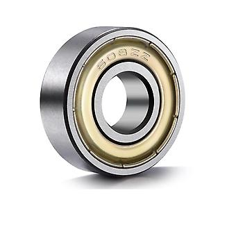 3pc/608zz Steel Bearing Deep Groove, Ball Miniature Bearings, Chrome Steel