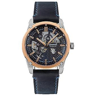 Carroll Automatic Analog Men's Watch with Cowhide Bracelet I11602