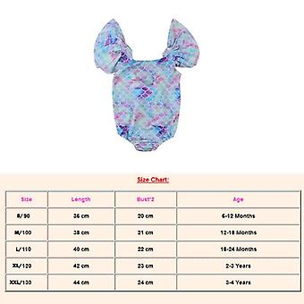 Summer Kid Children Swimwear Cartoon Swimsuit Baby Girls Swimming Bikini -bodysuit Beachwear Bath Suit