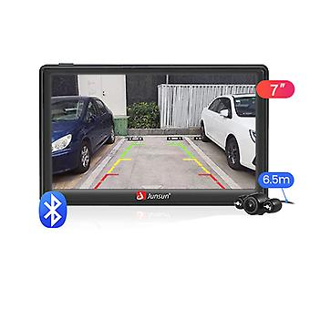 "7"" Hd Car Gps Navigation, fm, Bluetooth Avin Navitel Sat Nav For Automobile"