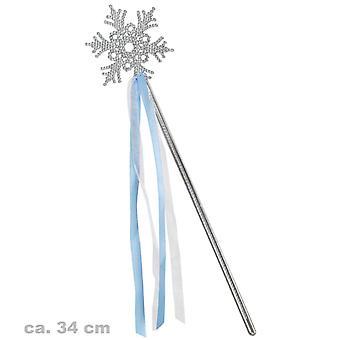 Ice Queen fe tryllestav wand is krystal tilbehør