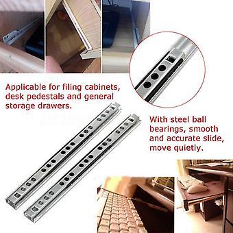 Micro Fold Schublade Stahl Kugel - Slide Rail Möbel Hardware Armaturen