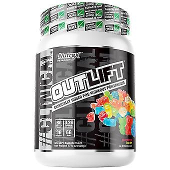 Nutrex Research Outlift Clinical edge gummy ear 504 gr