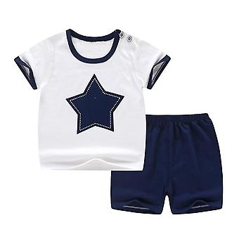 Baby Short Sleeve Suit Cotton Summer Clothes Sets, Kids T-shirt 11.11 Cheap