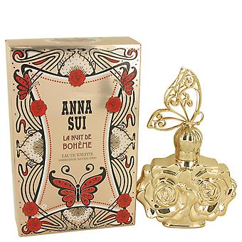 Anna Sui La Nuit de Boheme Eau de Toilette 75ml EDT Spray