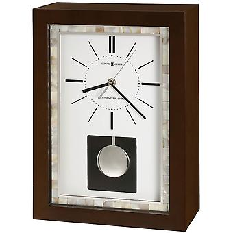 Howard Miller Holden Mantel Clock - Dark Brown