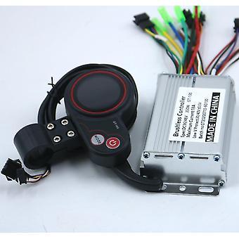 سكوتر الكهربائية تحكم E الدراجة فرش سائق السرعة وشاشة LCD