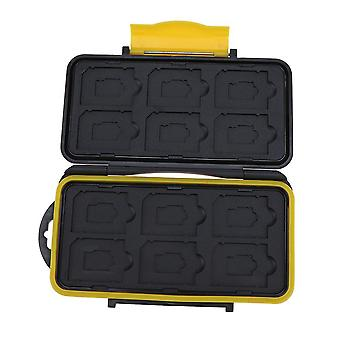 Multi-grid Waterproof Memory Card Case Card Holder &protector Box For Sd/ Sdhc/