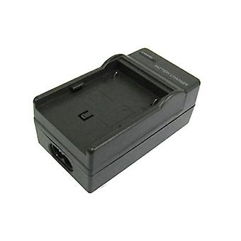 Digital Camera Battery Charger for Samsung SLB-10A, SLB-11A(Black)