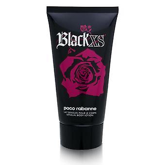 Black xs par paco rabanne pour les femmes 5,1 oz lotion sensuelle pour le corps