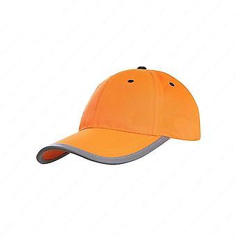 Baseball réfléchissant haute visibilité, casque de sécurité, bouchon de circulation