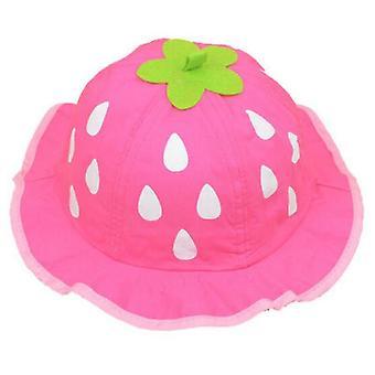 Chapeaux de seau de filles, maille mignonne, chapeaux infantiles de point de soleil, bébé d'été de bonnets d'enfant en bas âge