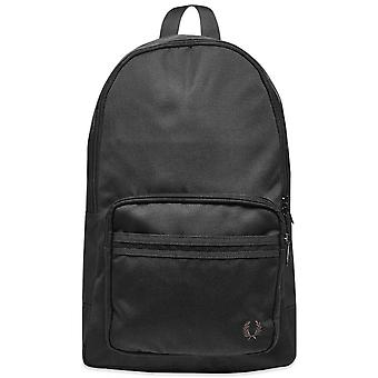 Fred Perry Tonal Tipped Backpack Bag L5272-102 Black