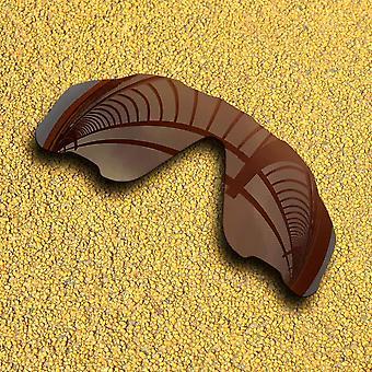 Lentilles polarisées de remplacement de revêtement miroir pour cadre jawbreaker oakley