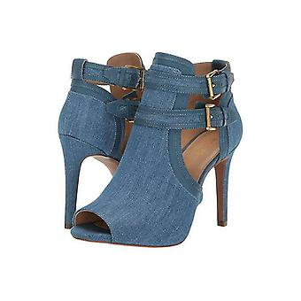 Michael Michael Kors Womens Blaze Open Fabric Open Toe Ankle Fashion Boots