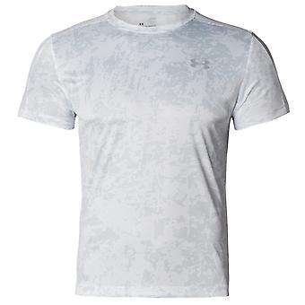 Under Armour Herre Speed Stride Hele Print T-shirt Hvid 1326778 100