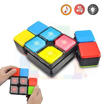 Baisiqi radost-zábava dárky pro 6-12 let chlapci dívky magic cube rychlost kostka 4 režimy hudba elektronické