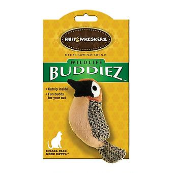Ruff & Whiskerz Buddiez Bird Plush Cat Toy