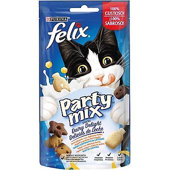 Felix Party Mix Milk Delights (Cats , Treats , Biscuits)