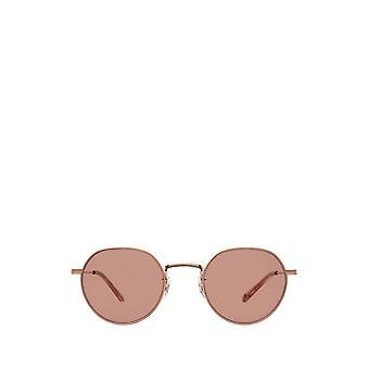 Garrett Leight ROBSON SUN rose gold-nude unisex sunglasses