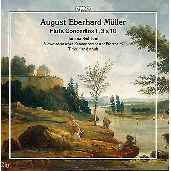 Flute Concertos 1 & 3 & 10 [CD] USA import