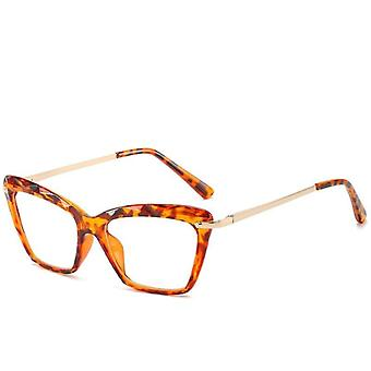 Butterfly Eyeglasses, Transparent Clear Glasses, Optical Plastic Frame