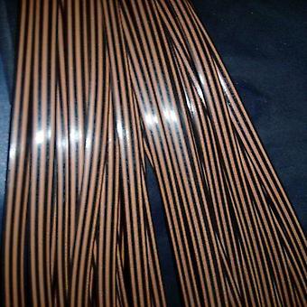 Kawa Gradient Płaskie Syntetyczne Rattan Tkania Materiał Plastic Knit Repair