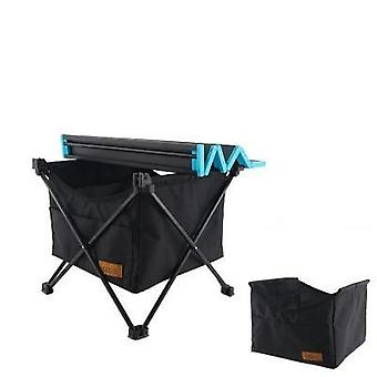 Folding Table Storage Basket Picnic Hanging Bag Invisible Pocket Waterproof