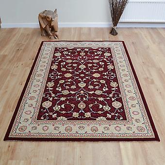 Szlachetny sztuka dywany 6529 391 w kolorze czerwonym